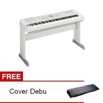 Yamaha Digital Piano DGX-650 Putih + Gratis Dust Cover