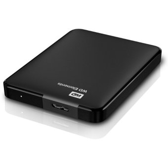 Western Digital Harddisk External Element 2 TB - Hitam