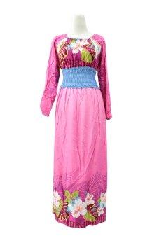 Kampung Souvenir - Gamis Isabela - Pink Blue