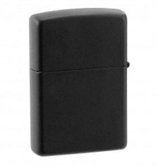 Zippo Lighter 218 Black Matte Original USA