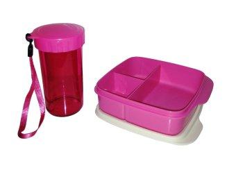 Spek Harga Tupperware Small Drinking Flask Lolly Tup Set