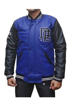 harga Dnaball Varsity Leather Jacket Lazada.co.id
