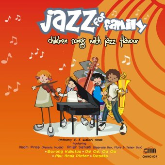 Gema Nada Pertiwi CD Jazz for Family