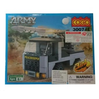 Cogo Army Action 3 in 1 3007-1