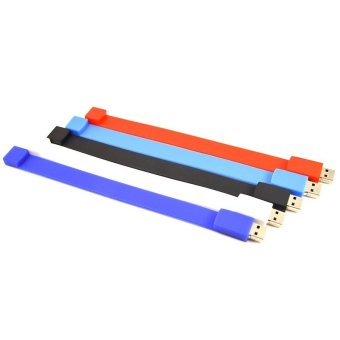 FbscTech 5 Pcs 32GB Wristband Flash Memory Best Christmas Gift to Friends Lovers Family- Intl