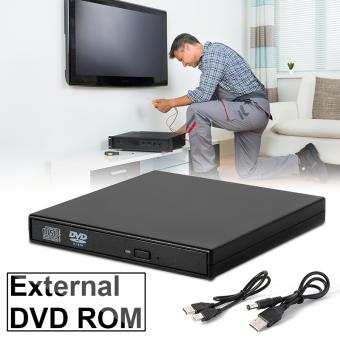 USB 2.0 Slim Portable External DVD-ROM CD-RW Combo Drive Burner Player AC413