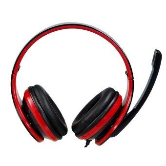 Vykon ME111 USB Multifungsional Headphone - Hitam