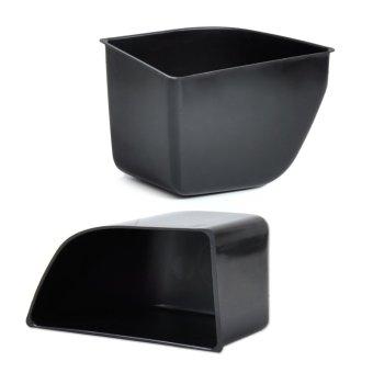 Front Door Armrest Secondary Storage Box for Honda Accord 2008-2012 2 Piece Set