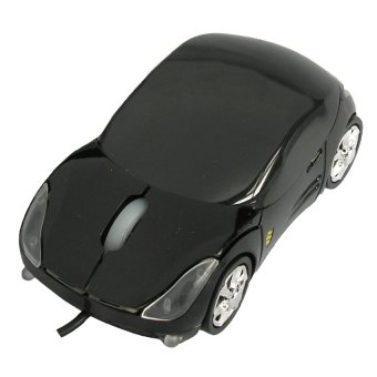 Mediatech MC-020 U - Audi Mouse Car / Mobil - Hitam