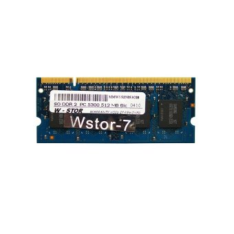 W-Stor SO DDR2 PC5300 512 MB 8 IC