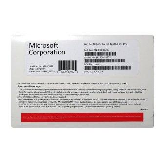 Microsoft Windows 10 Professional OEM - 64 Bit