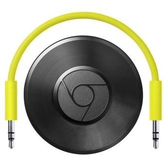 Google Chromecast Audio WiFi Streaming Speaker for Smartphone - iPhone - Tablet PC - Hitam