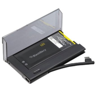 Universal Battery Charger Bundle for BlackBerry Z10 - Hitam terpercaya