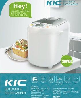 harga KIC Automatic Kitchen Appliance Bread Maker KIC-BM 1002PemanggangRoti Toaster Lazada.co.id