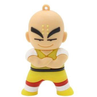 Cartoon Kuririn 32GB USB 2.0 USB Flash Drives Storage Drive Memory Stick (Yellow) (Intl)