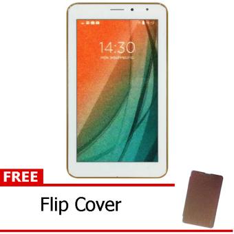 Advan Vandroid i7A 4G LTE - White + Free Flipcover Coklat