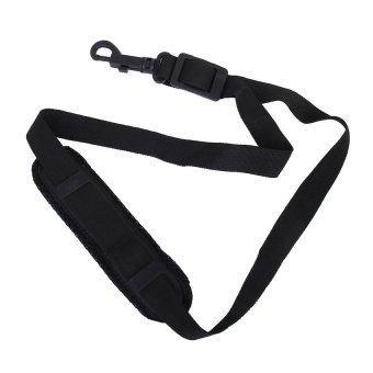 RIS Black Adjustable Padded Saxophone Sax Neck Strap with Plasitc Snap Hook - Intl
