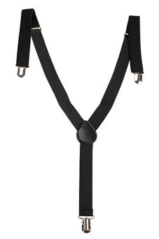 Elastic Brace Suspender Y Back Neon Clip-on Belt for Overall Adult Child