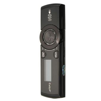 8GB LCD Display USB Mp3 Media Player FM Radio Xmas Gifts Support Voice Record Black (Intl)