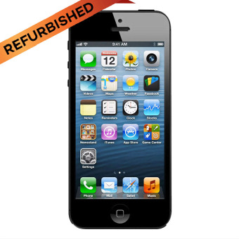 Refurbished Apple iPhone 5 - 32 GB - Hitam - Grade A