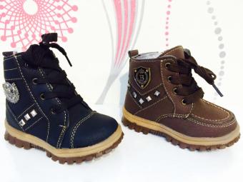 harga Boots NVT collection Mollyca Import Shoes sepatu boots anak laki-laki 028 coklat Lazada.co.id