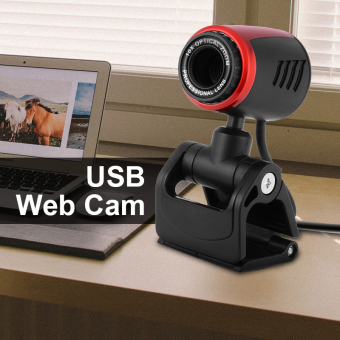USB 0.3MP HD Webcam Web Cam Camera with Microphone for Computer PC Laptop AH228