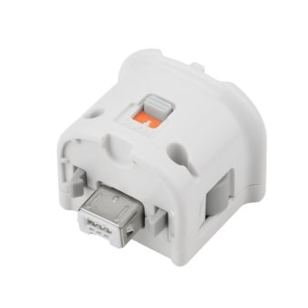 Motion Plus MotionPlus Adapter Sensor for Nintendo Wii Remote Controller (White) (Intl)