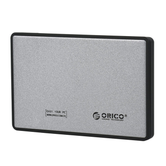Orico 1-Bay 2.5 Inch External HDD Enclosure Sata 2 USB 3.0 - 2588US3 - Silver