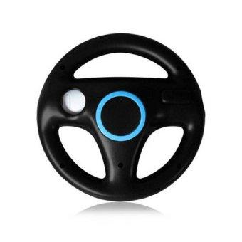 Generic Black Steering Mario Kart Racing Wheel for Nintendo Wii Remote Game (Black) (Intl)