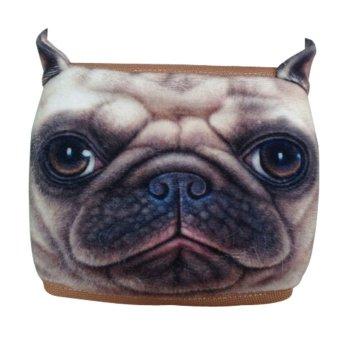 AOXINDACute 3D Dog Warm Ear-Hook Cotton Half Face Mouth Mask - Shar Pei - Intl