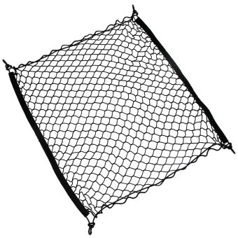 4 Hook Car Universal Trunk Cargo Net Mesh Storage Organizer Auto Accessories- Intl