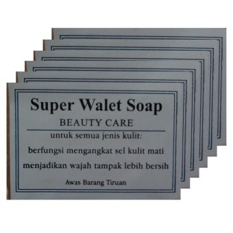Walet, Sabun Walet Super, Merawat Kulit - 6pcs