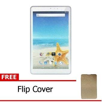 Advan Vandroid T3H - 8GB - Putih + Gratis Flipcover Gold