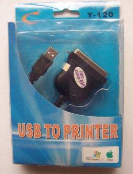 harga USB to Printer Print Converter Cable LPT - Black Lazada.co.id