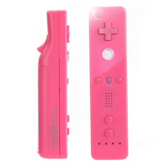 S & F Game Wiimote Built in Motion plus Inside Remote Controller for Nintendo Wii (Pink) - Intl
