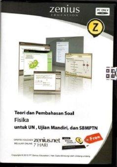 Zenius Set CD SMA Fisika