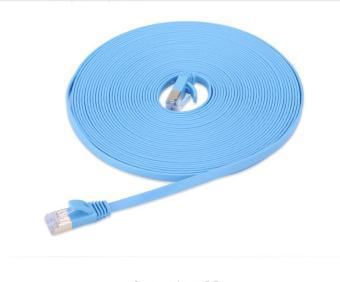40M High Speed Computer LAN Internet Network Cord (Blue)- INTL