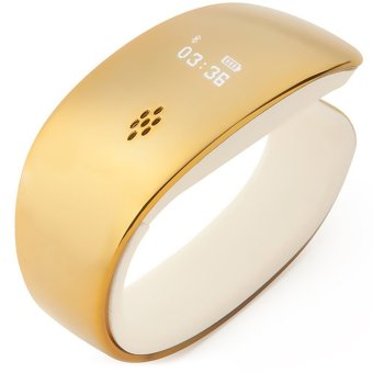 Y02 Bluetooth Smart Watch (Gold) (Intl)