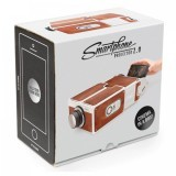 Portable DIY Cardboard mini Projector 8 x Zoom for Mobile Phones personal Cinema (Brown) (Intl)