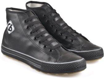 CBR SIX JKC 103 Sepatu kets/ high cut sneaker - synthetic - Keren - Hitam