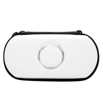 ELENXS Hard Carry Case Cover Protector For Sony Psp 2000 3000 White (Intl)