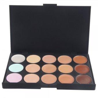 SERSEUL 15-Color Makeup Collection Perfect Concealer P15 (Multicolor) (Intl)