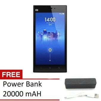 Xiaomi Mi3 - 16GB - Putih + Free Powerbank 20000 mAh