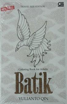 Uranus Gramedia - Coloring Book For Adulf :Batik