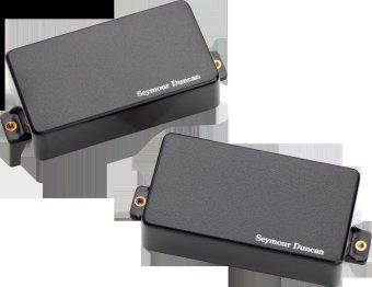 Seymour Duncan Pick-up Gitar Lw-Ch2S Hb Set - Hitam