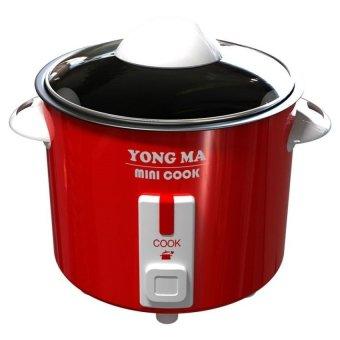 harga Yong Ma MC-300 Magic Com 2 in 1 Mini Cook - Penanak Nasi - Merah Lazada.co.id