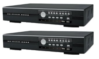 Avitech dual 8 ch -Set 2 DVR Player
