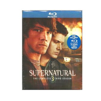 Warner Bros Supernatural: The Complete Third Season Blu-ray
