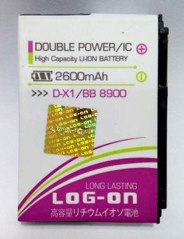 Log On Battery D-X1 For Blackberry 8900/9630/9500/9530/9550 terpercaya