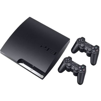 Sony Playstation 3 Slim 250GB Full Games - Hitam